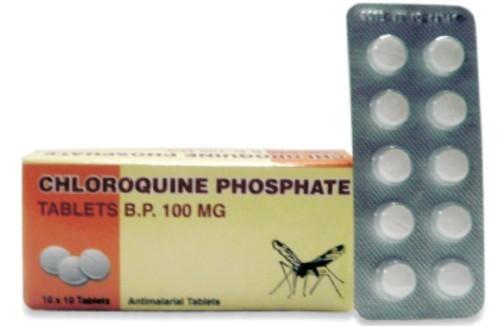 CHLOROQUINE PHOSPHATE TABLET (100MG & 250MG)