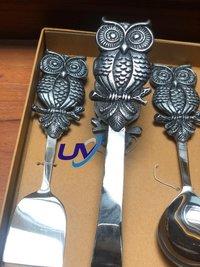 Owl Serving set 3pcs