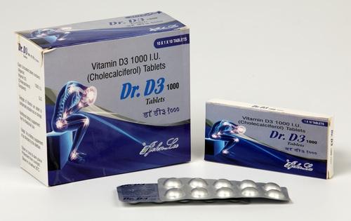 Vitamin D3 1000 IU (Cholecalciferol)