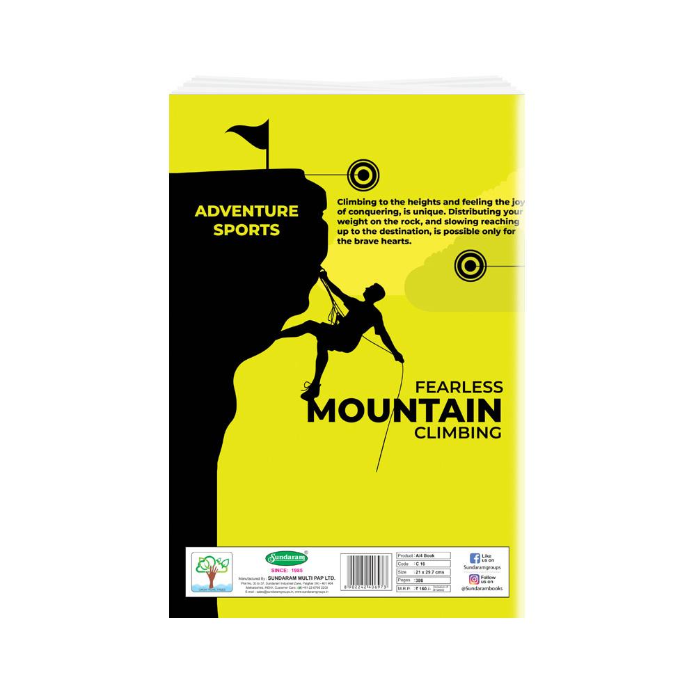 Sundaram Winner A/4  Book - 386 Pages (C-16)