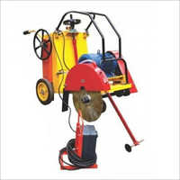 Concrete Groove Cutter With Electric Motor