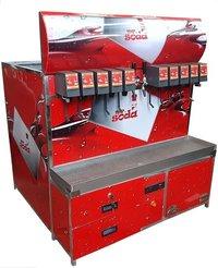 Mobile vehicle soda machine