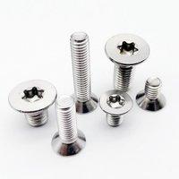 Six Lobs Machine Screws