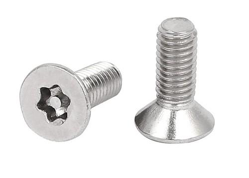 PIN TORX SECURITY CSK HEAD SCREW