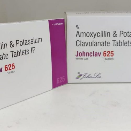 Amoxicillin Trihydrate IP 500MG + Potassium Clavulanate Diluted IP 125 MG