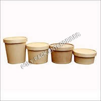 Biodegradable Craft Paper Container