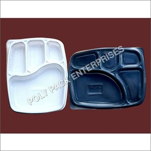 Biodegradable Spill Proof Meal Tray