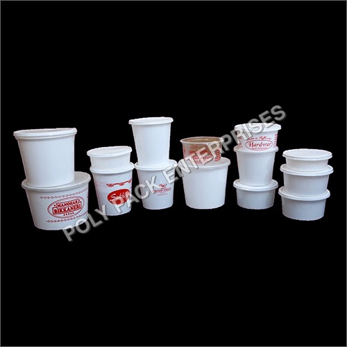 Disposable Round Container