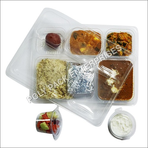 Disposable Meal Tray With Lid