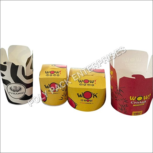 Customized Printed Paper Noodle Box