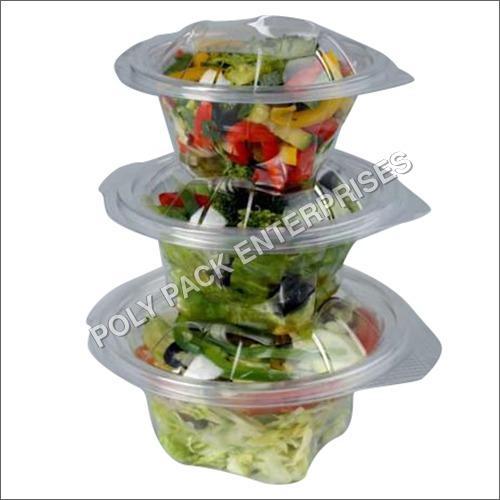 Transparent Disposable Salad Bowl