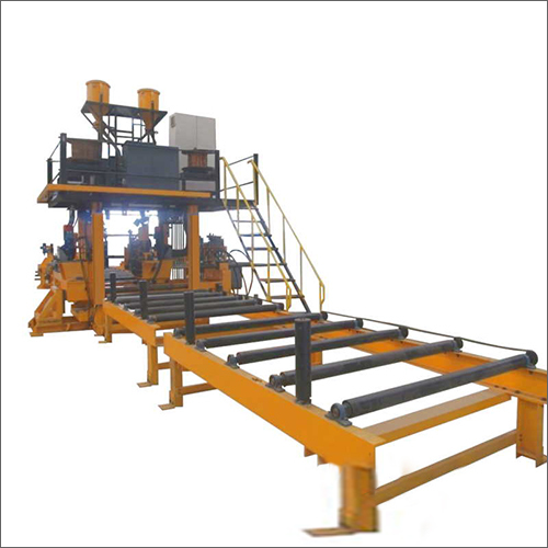 H Beam Assembly Welding Machines And System