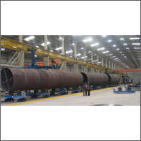 Rotators For Wind Tower Fabrication Line