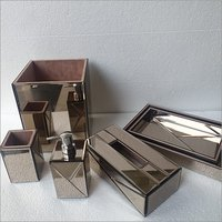 Tissue Box And Tumbler Set