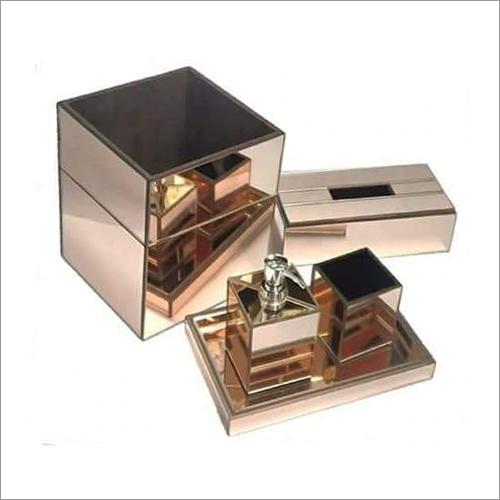 Rose Gold Bathroom Set