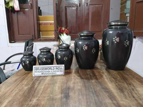 BRASS ALL SIZE OF FUNERL PET URN FUNERAL SUPPLIES