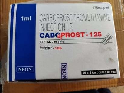 CARBOPROST TROMETHAMINE INJECTION I.P.