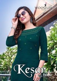 Kesar Vol-4 Kurti Catalogue Set