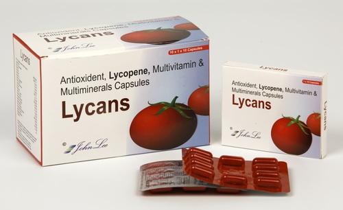 Lycopene + Multivitamin + Multimineral