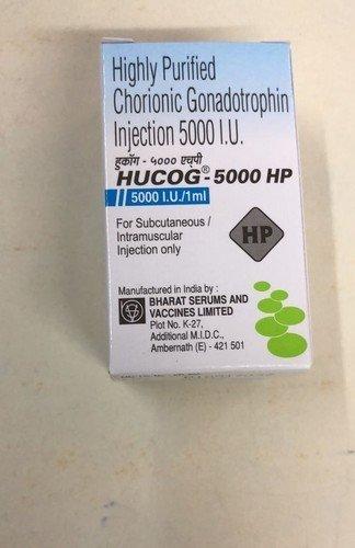 Highly Purified Chorionic Gonadotrophin Injection 5000 I.U.