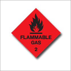 Flammable Gas 2 Signage