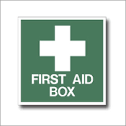 First Aid Box Signage
