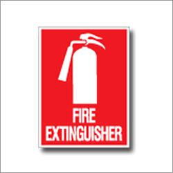 Fire Extinguisher Signage