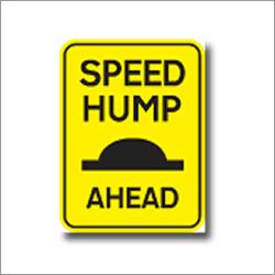 Speed Hump Ahead Signage