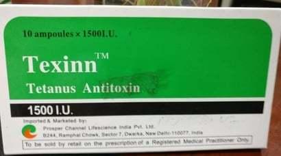 Tetanus Antitoxin