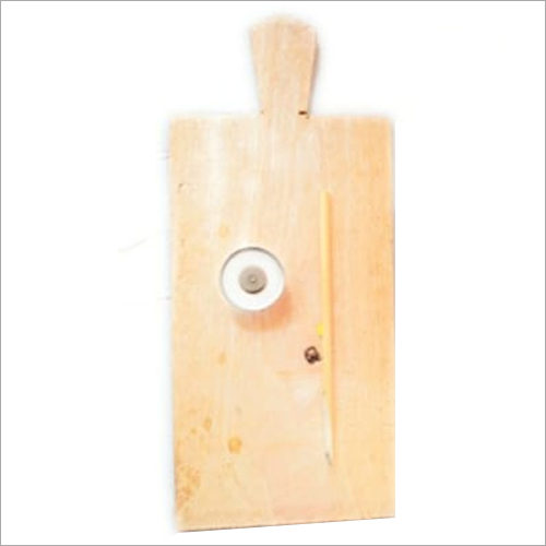 Wooden slate with dawat