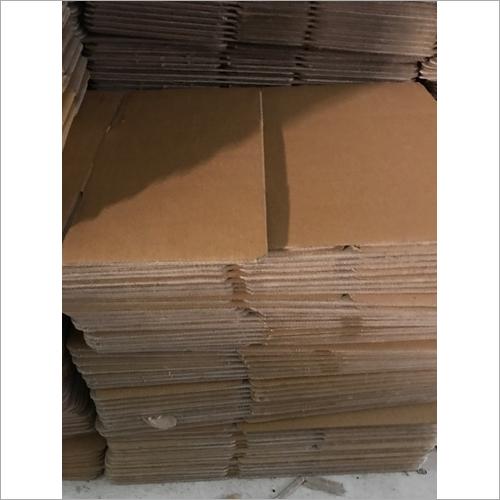 Brown Rectangular Corrugated  Boxes