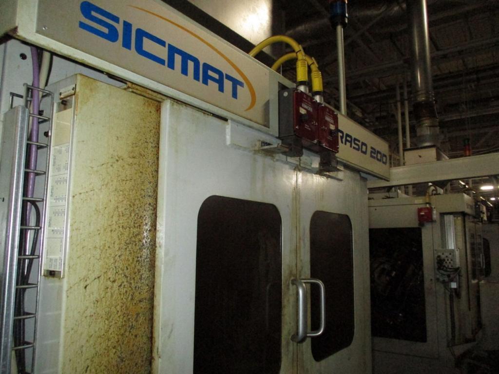 Sicmat RASO 200 CNC Gear Shaving Machine