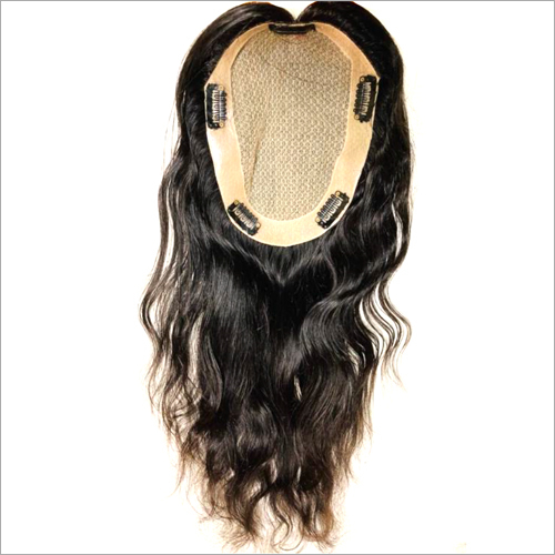 Clip in Crown Hair Topper