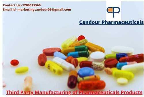 Pharmaceuticals Capsules Third Party Manufacturing