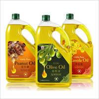 Edible Oil Bottle Plastic Labels