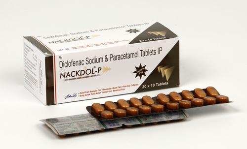 Diclofenac Sodium IP 50mg Paracetamol IP 325mg