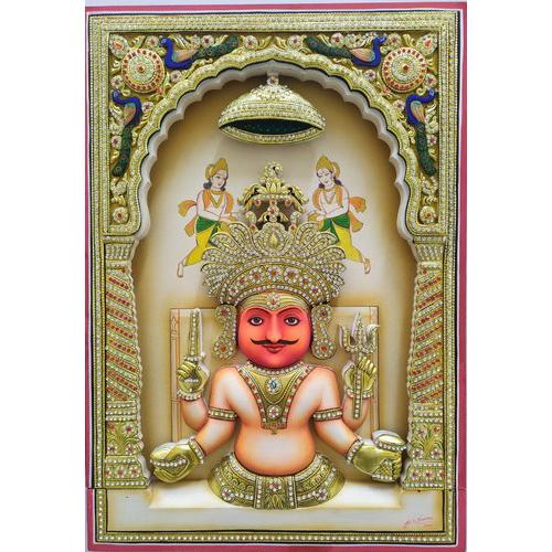 Nakoda Bhairav Painting