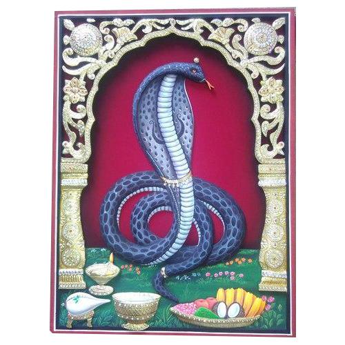 3D Goga Maharaj Ambrose Painting