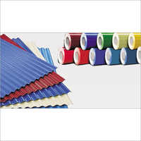 Galvanized Color Coated Sheet-Coil