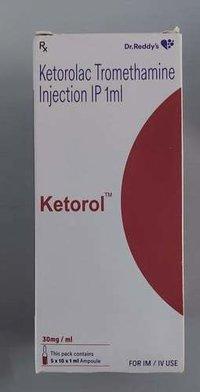 Ketorolac Tromethamine Injection Ip 1Ml