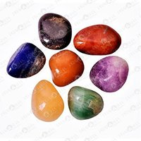 Prayosha Crystals Seven Chakra Tumble Set