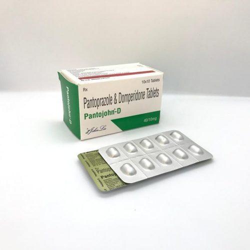Pantoprazole IP 40 MG + Domperidone IP 10 MG.
