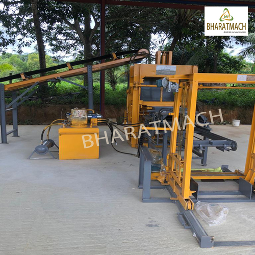 Vibro Automatic Multi Brick Block Machine With Stacker