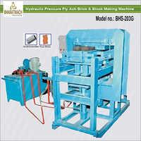 Hydraulic Pressure Fly Ash Brick And Block Making Machine