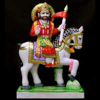 Marble Baba Ramdev Ji Statue