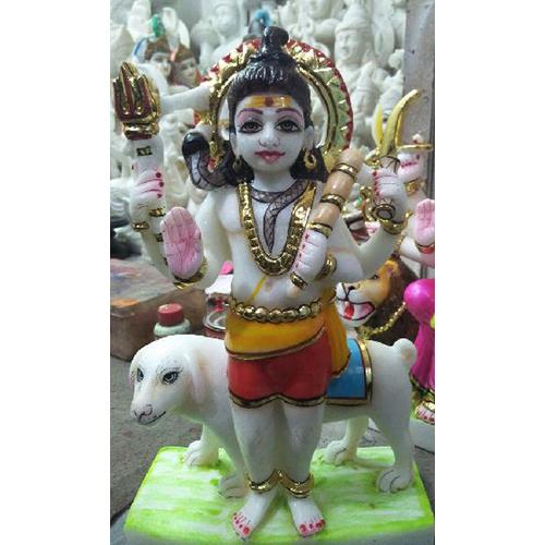 Marble Bheru Baba Statue