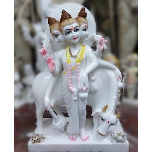 Marble Dutta Trey Statue