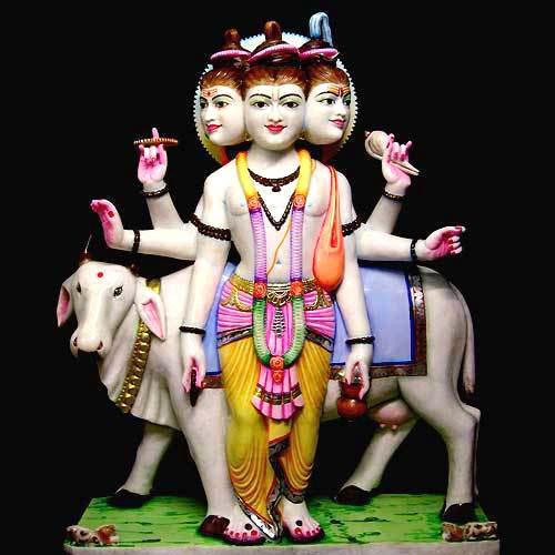 God Dutta Trey Statue