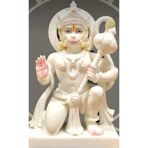 Marble Shree Hanuman Statue