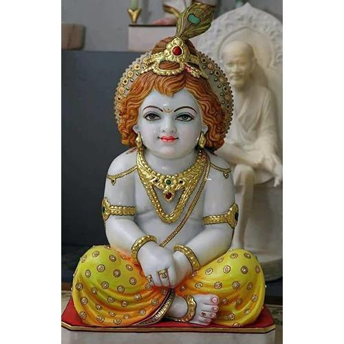 White Marble Lord Krishna